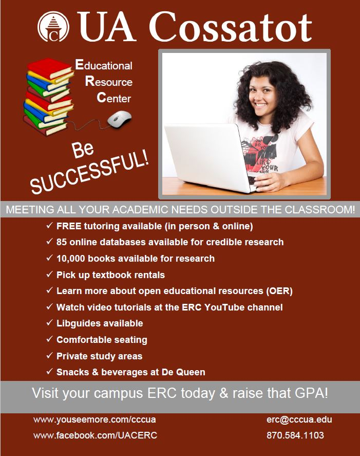 The ERC is everything you need in one place!