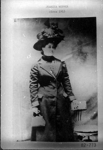 Juanita Webber, c. 1915