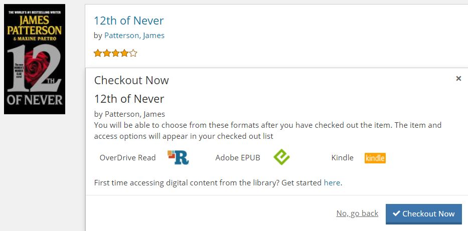 Image of eBook in library catalog