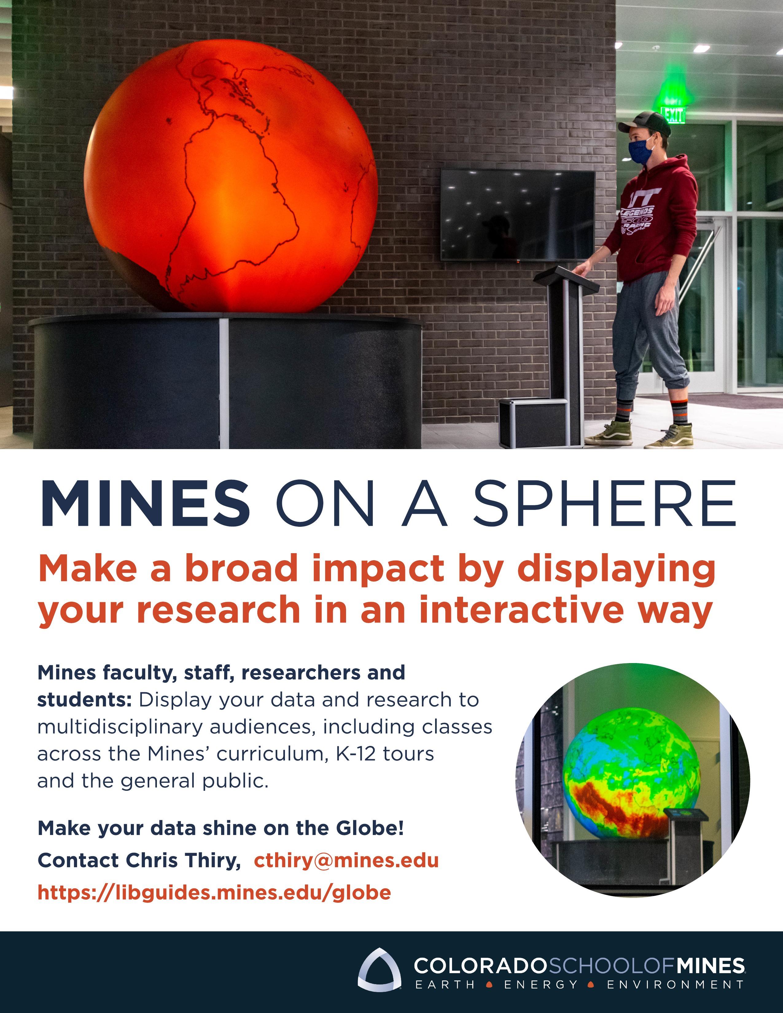 GeoDome Globe advertisement