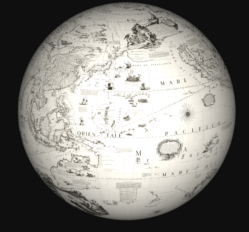 globe projected correct