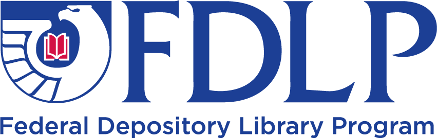 Federal Depository Library Program Logo with link to website