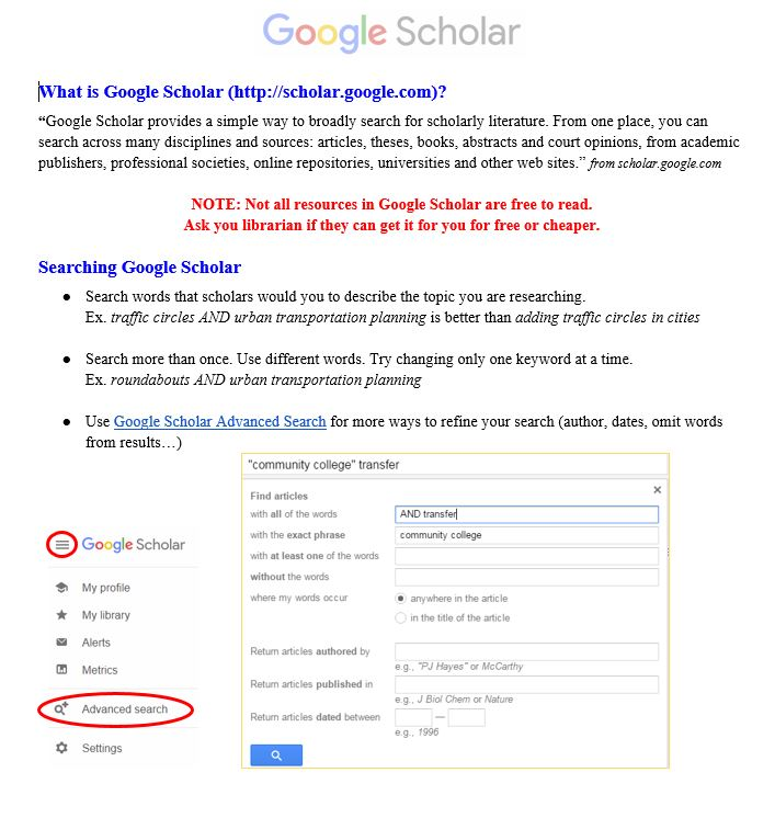 "See transcripts below for this image, ""Google Scholar"""