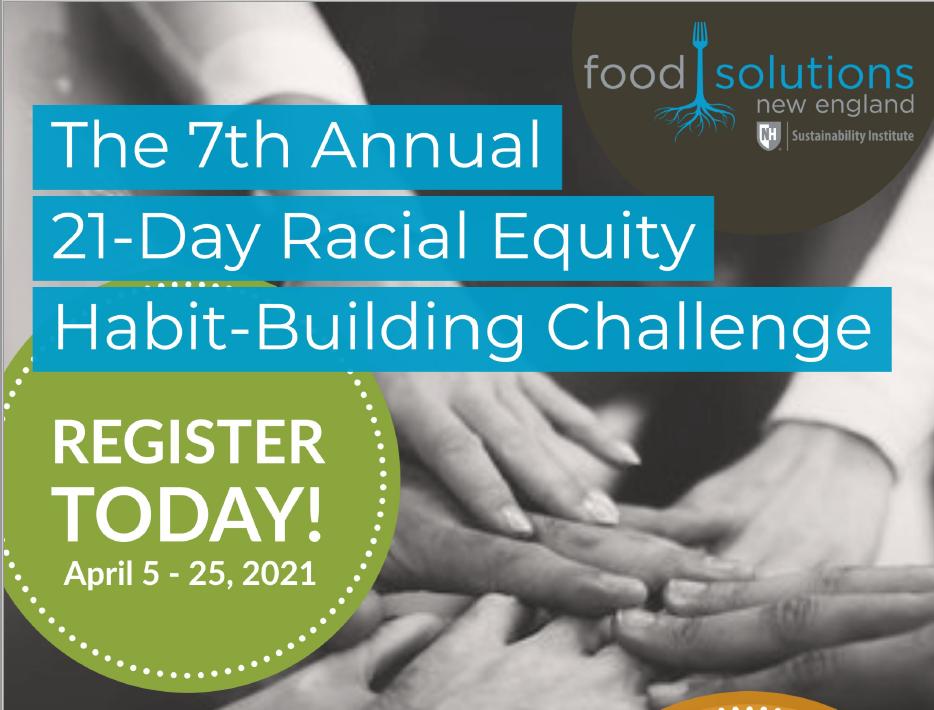 Racial Equity Challenge Flyer