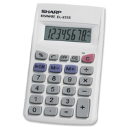 SHARP EL233SB standard calculator