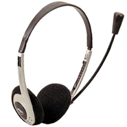 headphone and microphone headset