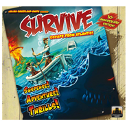 survive escape from atlantis board game