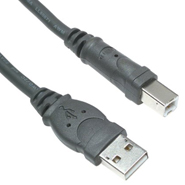 USB A/B Extension Cable