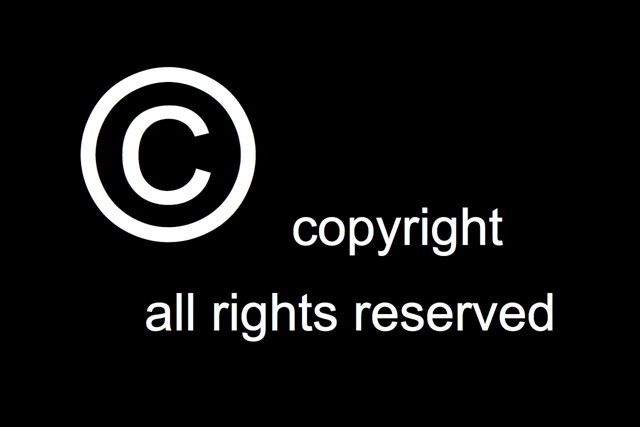 Copyright. All rights reserved.