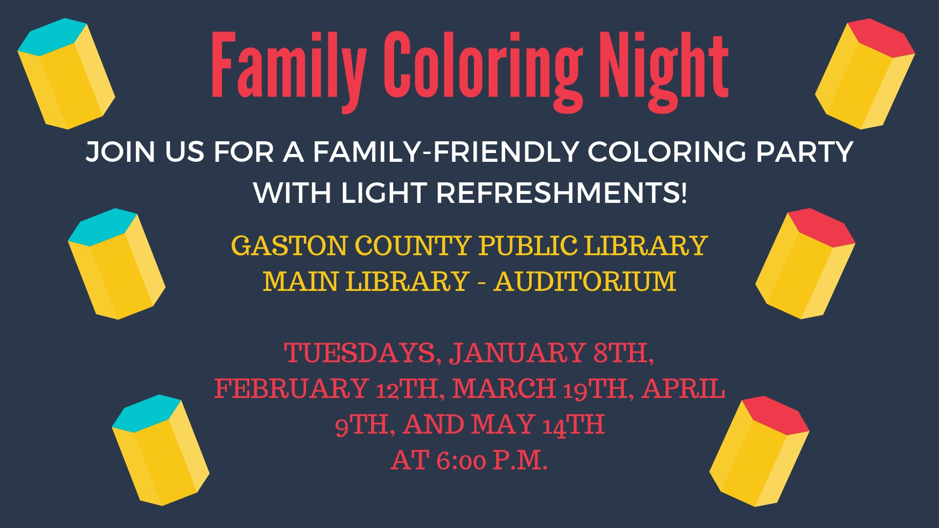 Family Coloring Night