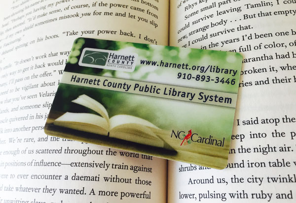 harnett county public library card