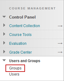 Screenshot of step 1: Control Panel > Users and Groups > Groups