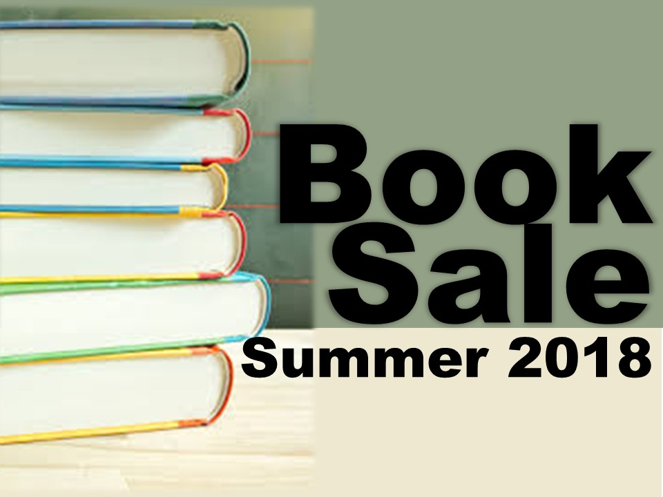 Image of books, Book Sale Summer 2018
