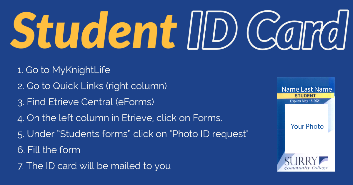 Get your student ID Card