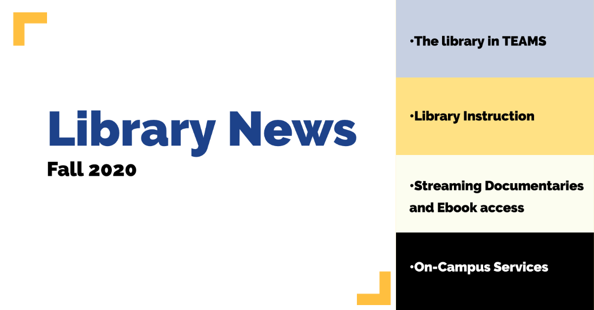 Library_News_Fall_2020