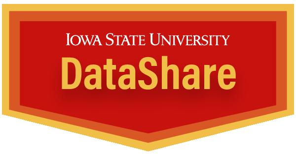 Iowa State University DataShare logo