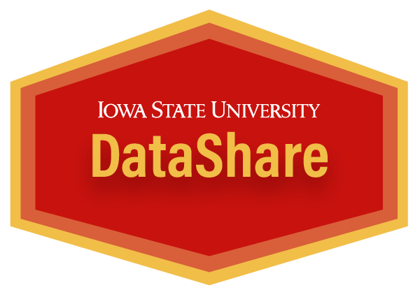 Iowa State University DataShare logo