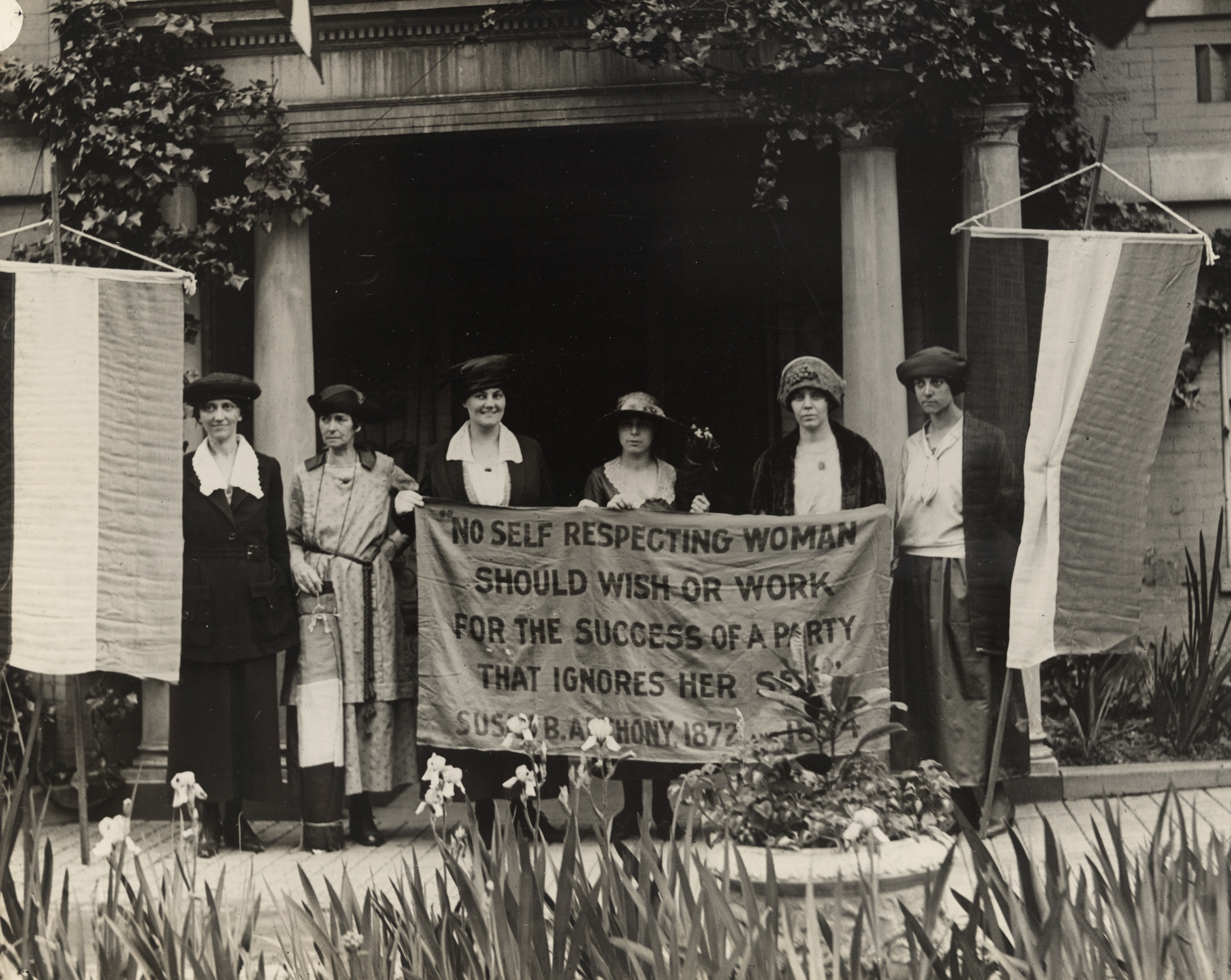 Six Suffragists at Republican National Convention