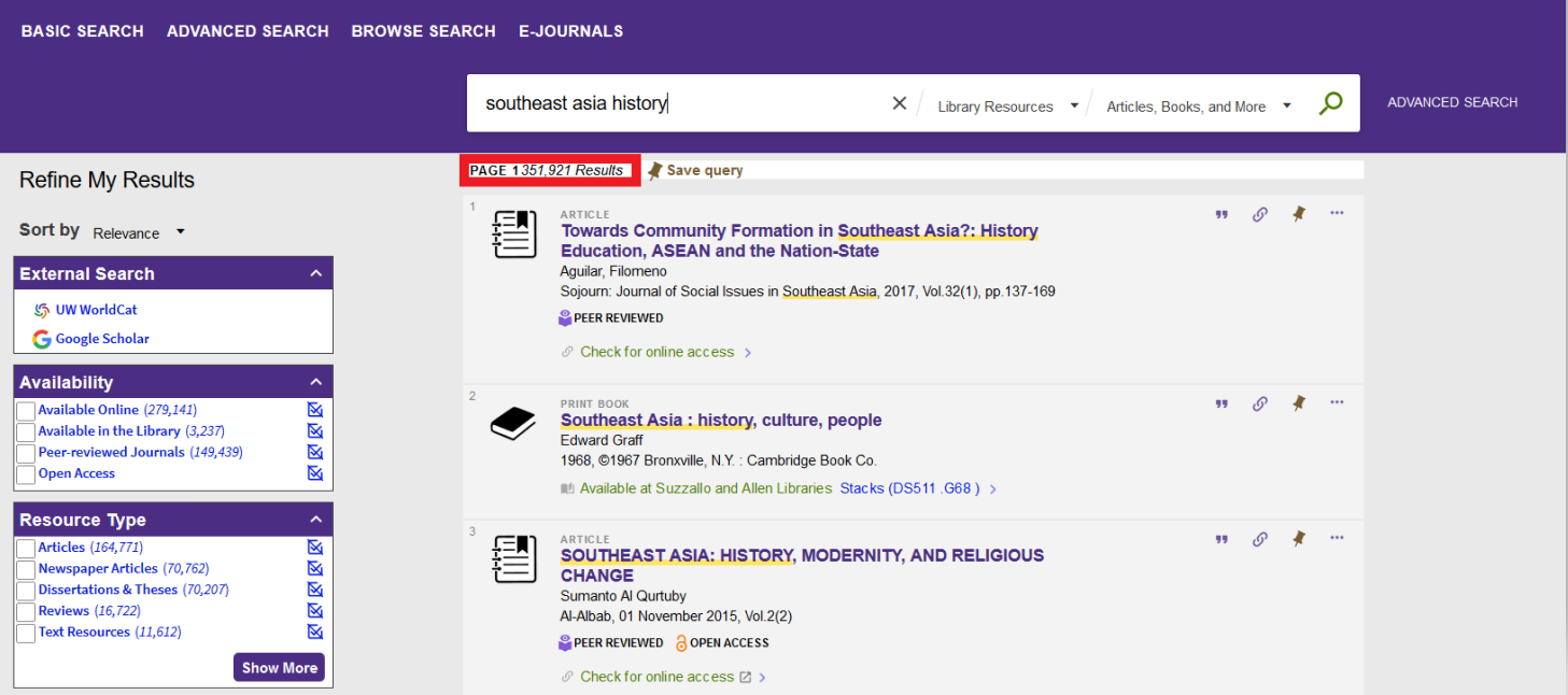 Search Results for 'southeast asia history""
