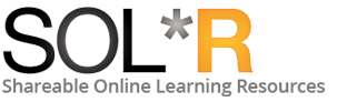 solr shareable online learning resources logo