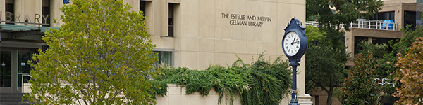 Gelman library image