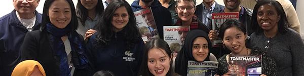 Toastmasters members