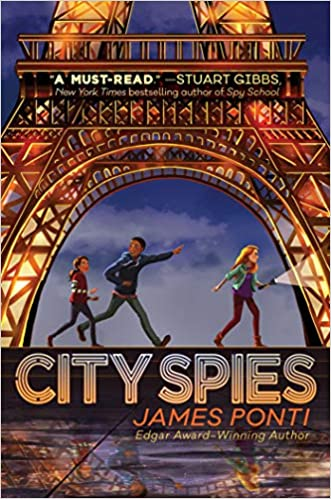 Click for book trailer for City Spies