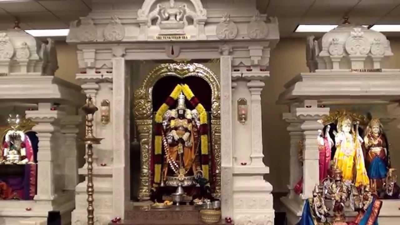 hindu temple interior