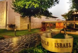 Outside view of Temple Israel