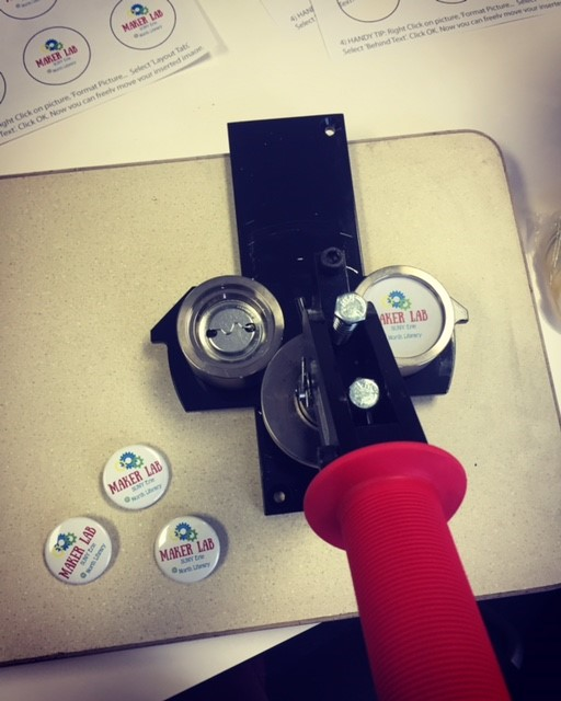 Maker Lab buttons