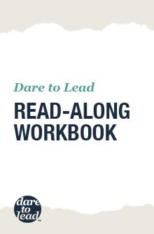 Dare to lead workbook