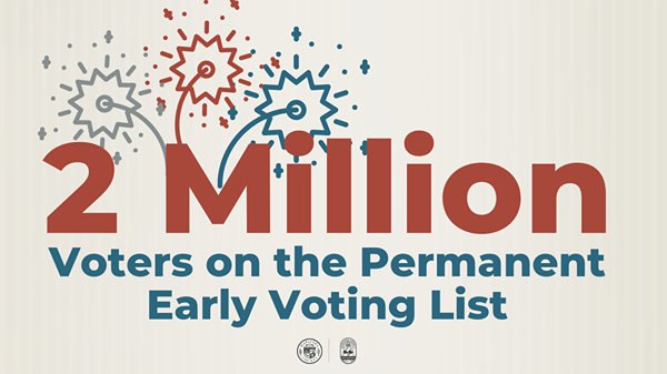 2 million voters on permanent early voting list in Maricopa County
