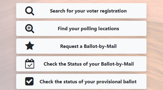 Arizona Voter Information Portal