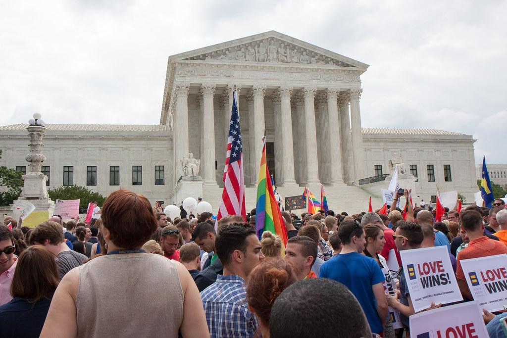 Obergefell v. Hodges, 576 U.S. 644 outside the Supreme Court