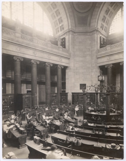 Low Library Rotunda (Scan 1165). Historical Photograph Collection, University Archives.