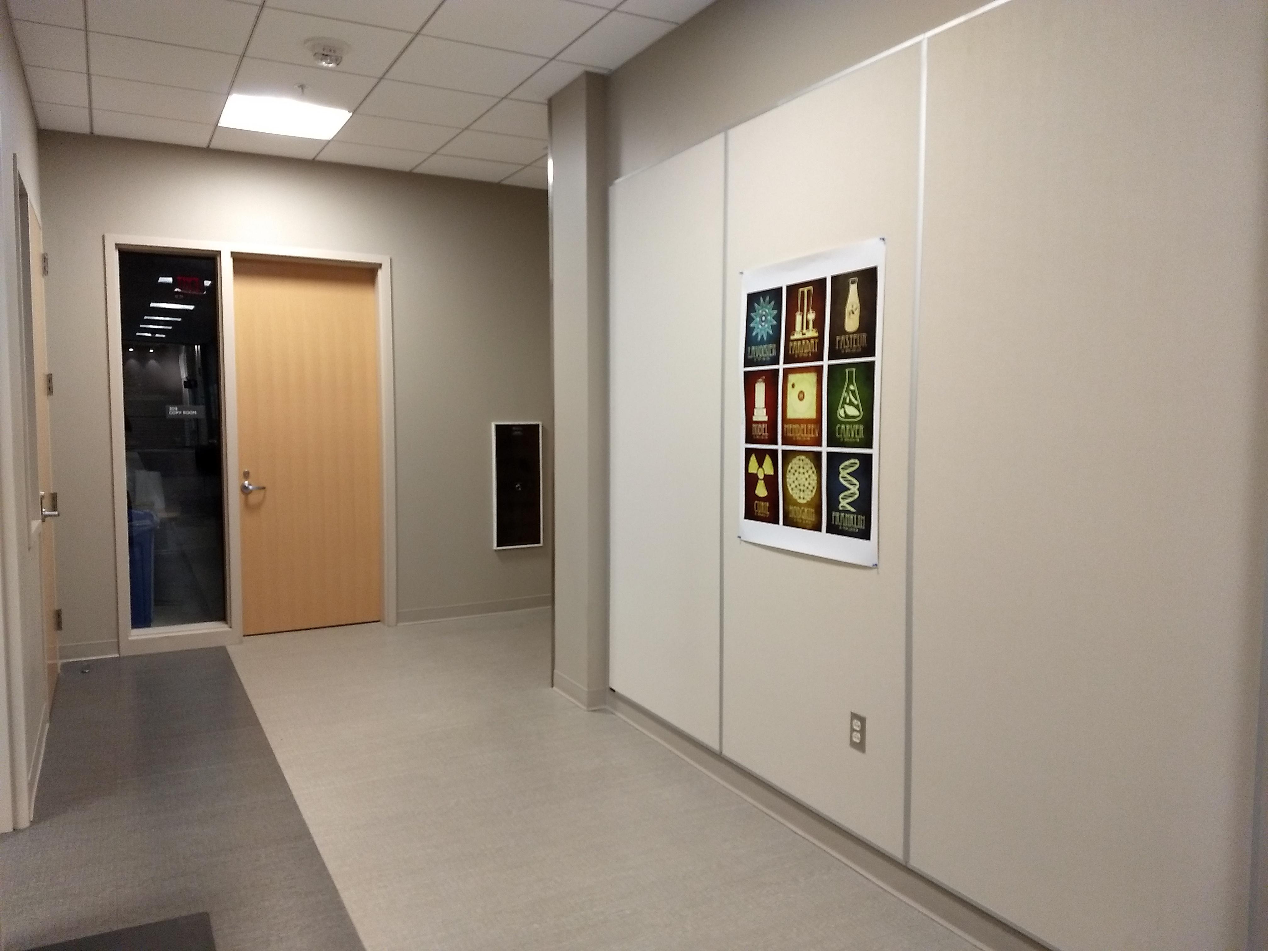 3rd floor near room 309 copy room