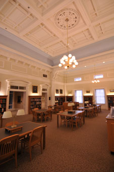 Image of McClung Collection Reading Room