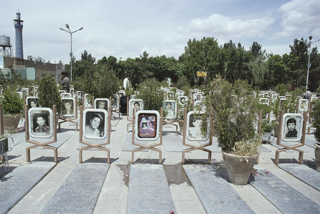 in memory of Iranian soldiers who were killed in the Iran-Iraq war