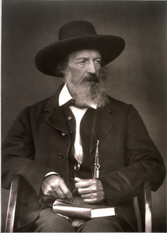 Portrait of Alfred Tennyson, seated