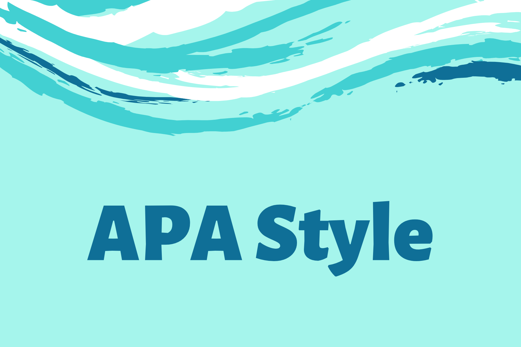 APA Style Citation Guide