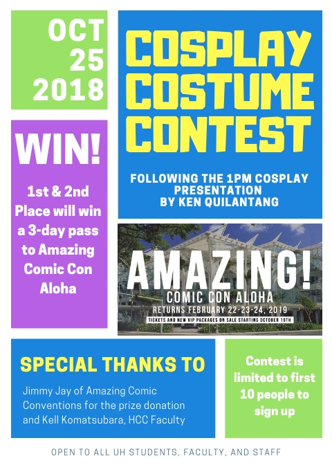 costume contest flier
