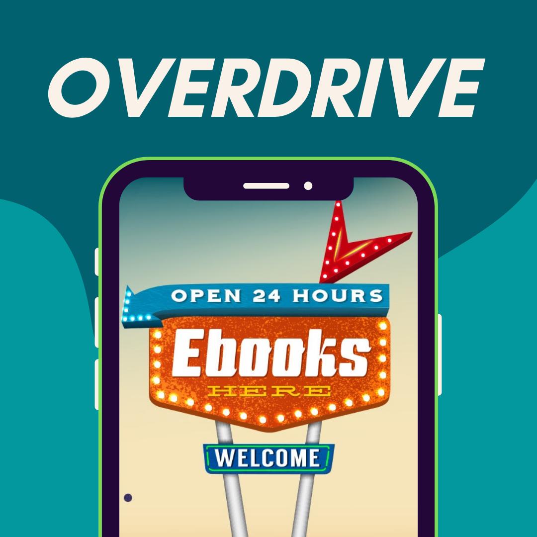 OverDrive Ebook Database Promotional Image