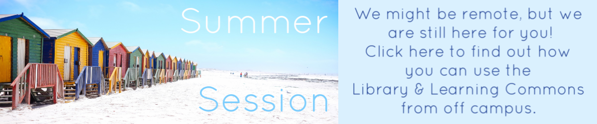 summer session banner