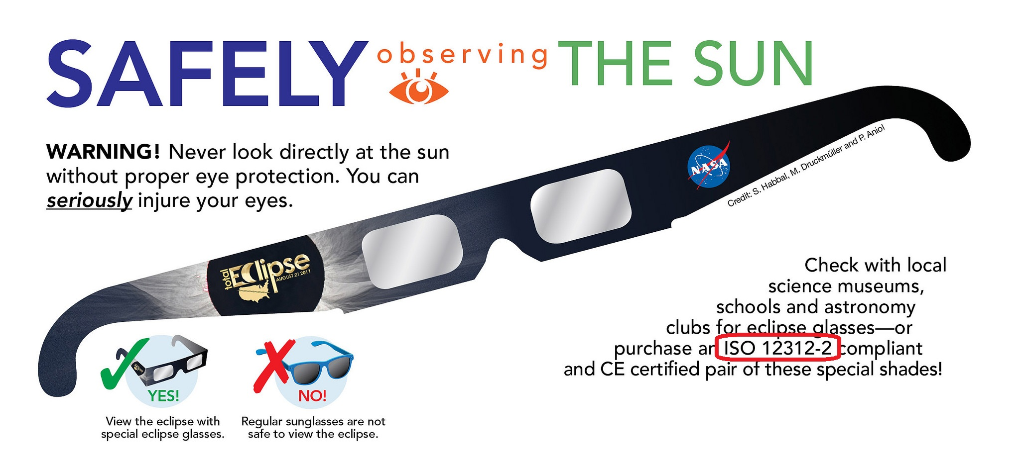 ISO example - eclipse glasses
