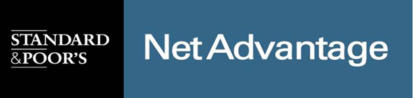Button for Standard & Poor's NetAdvantage