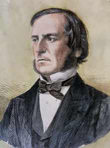 Portrait of George Boole