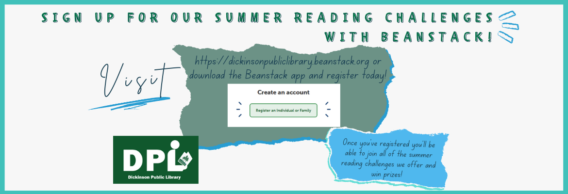 link to beanstack summer reading challenges
