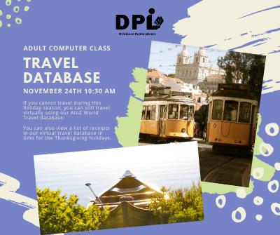 Travel Databases