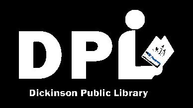 white dickinson public library logo