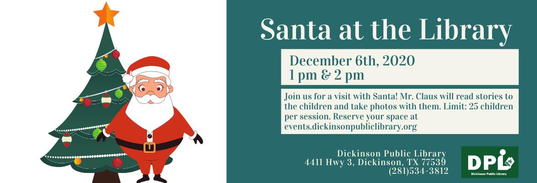 link to santa library visit event for registration